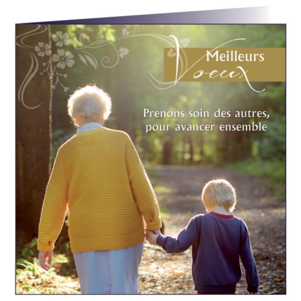 """Carte de voeux """"Fraternité"""""""