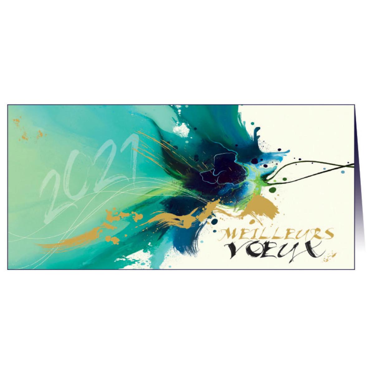 """Carte de voeux """"Elégance"""""""