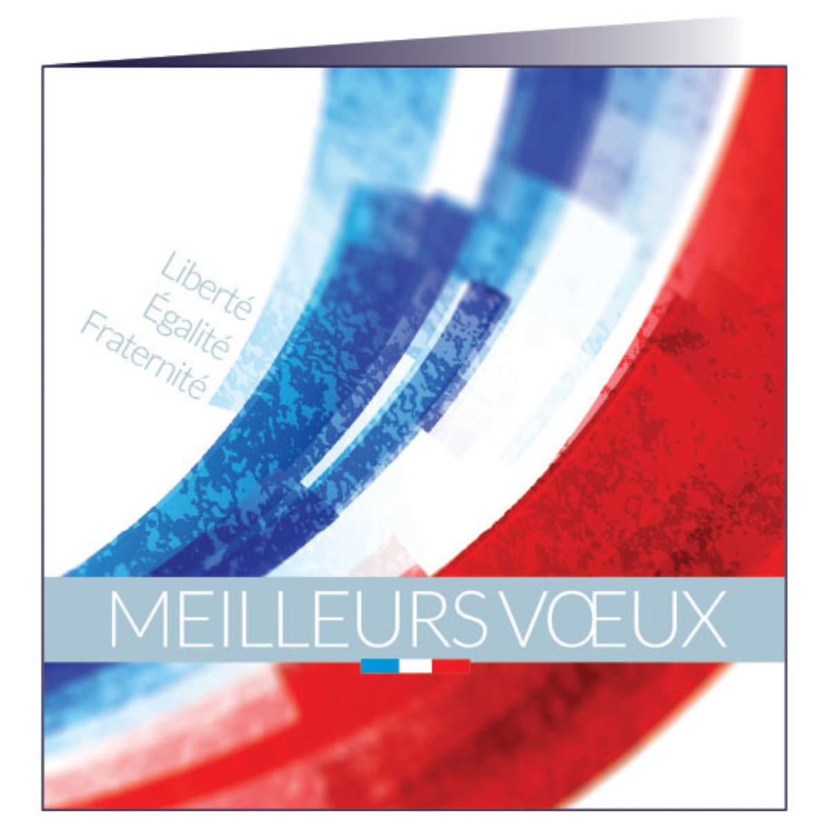 """Carte de voeux """"République"""""""