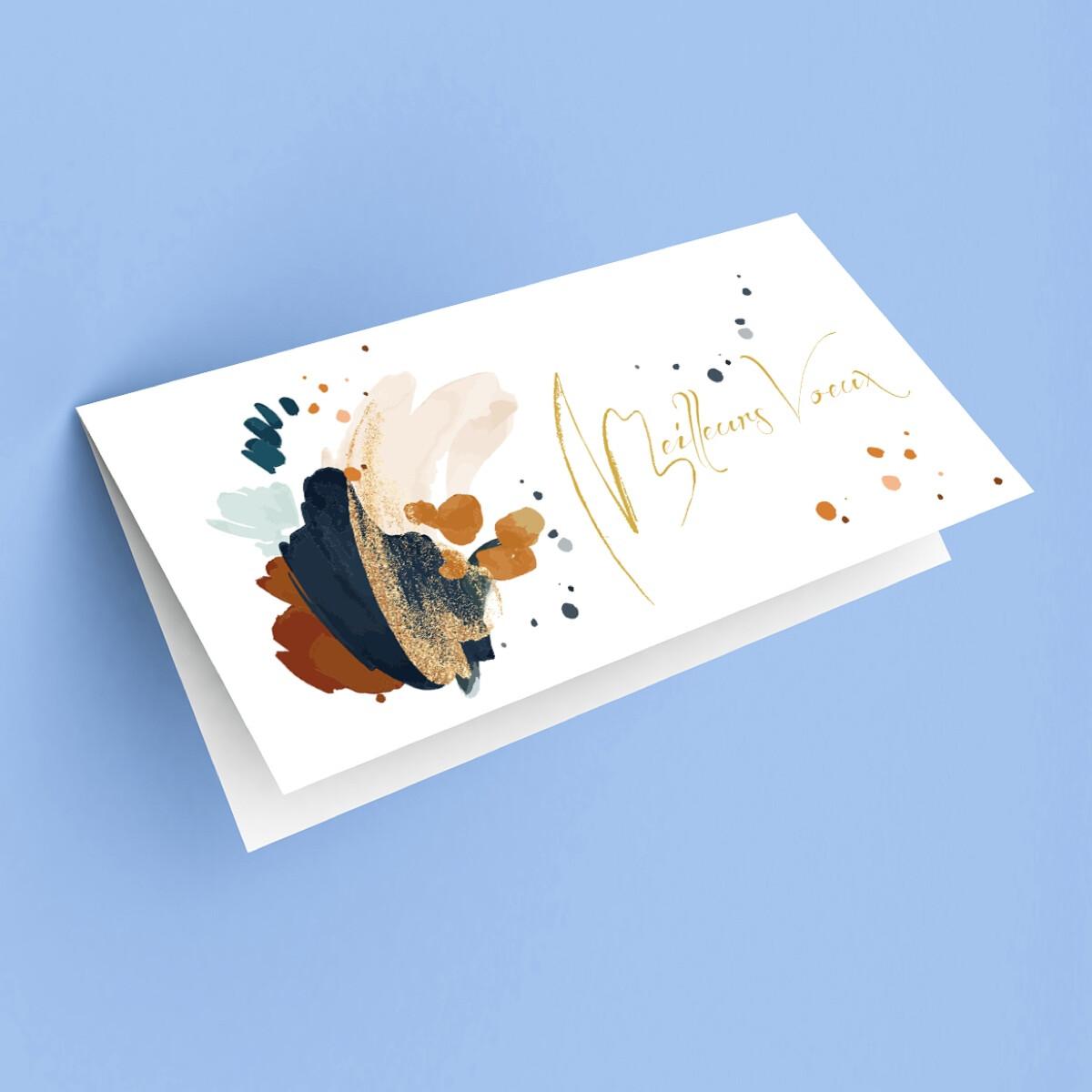 """Carte de voeux """"Aquarelle"""""""