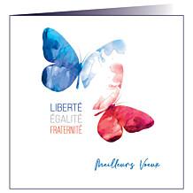 """Carte de voeux """"Liberté"""""""