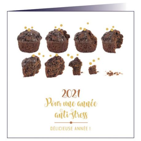 """Carte de voeux """"Gourmandise"""""""
