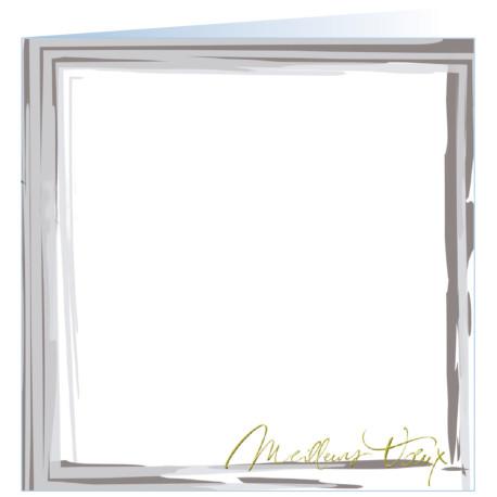 """Carte de voeux """"Sur mesure"""""""