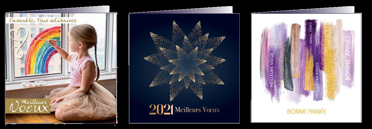 Notre collection de cartes de voeux 2020